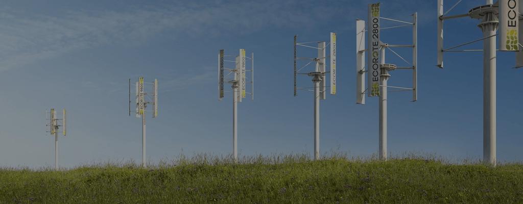 mini elektrownie wiatrowe