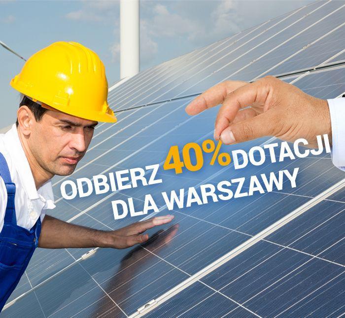 Dofinansowanie instalacje solarne Warszawa