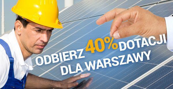 Dofinansowanie solary Warszawa